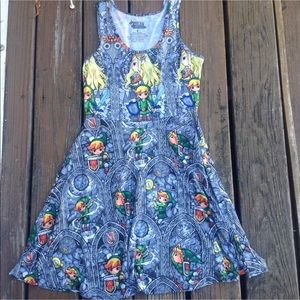 The Legend Of Zelda Windmaker Novelty Dress Size S